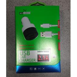 NEW SCIENCE USB CAR CHARGER MICRO USB