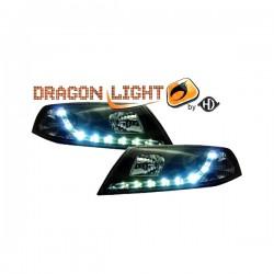 SKODA OCTAVIA 5 05.04-09.08 DRAGONLIGHT+LED BLACK