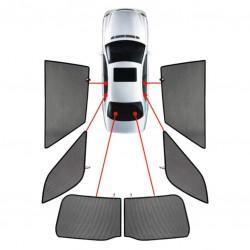 VW GOLF 5 SW 03-08 ΚΟΥΡΤΙΝΑΚΙΑ ΜΑΡΚΕ CAR SHADES - 6 ΤΕΜ.
