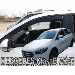 MERCEDES B-KLAS W247 5D 2019+ ΖΕΥΓΑΡΙ ΑΝΕΜΟΘΡΑΥΣΤΕΣ ΑΠΟ ΕΥΚΑΜΠΤΟ ΦΙΜΕ ΠΛΑΣΤΙΚΟ HEKO - 2 ΤΕΜ.