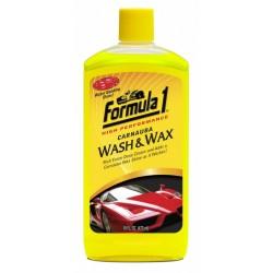FORMULA 1 ΣΑΜΠΟΥΑΝ ΜΕ ΚΕΡΙ CARNAUBA WASH & WAX - 946ML