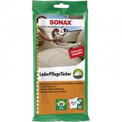Sonax Υγρά Μαντηλάκια φροντίδας δέρματος (10 τεμ)